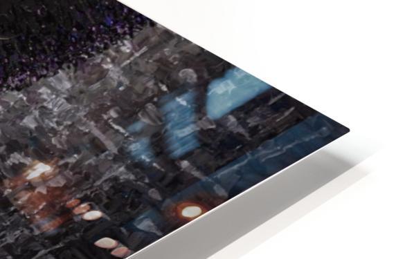Purple Transcendence HD Sublimation Metal print