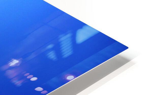 blue 1 HD Sublimation Metal print