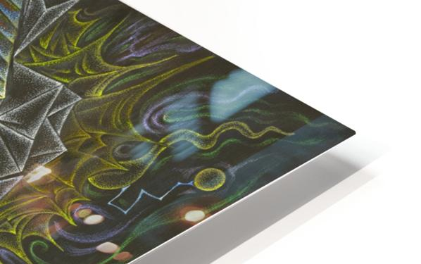 Deity_From_The_Abyss HD Sublimation Metal print