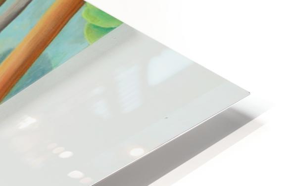 Cedar Edge HD Sublimation Metal print