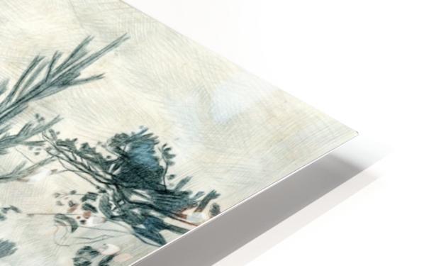 Moonrise HD Sublimation Metal print