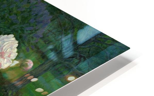 Peonies HD Sublimation Metal print