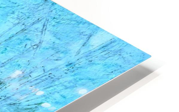 Snowy Snowy Night  HD Sublimation Metal print