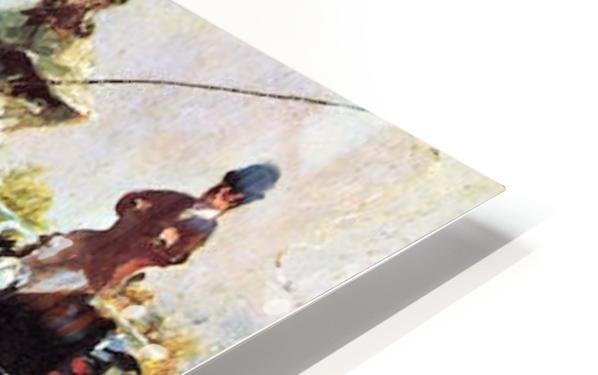 Count Alphonse de Toulouse-Lautrec HD Sublimation Metal print