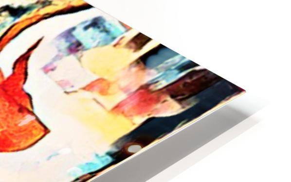 FraGmenTs C HD Sublimation Metal print