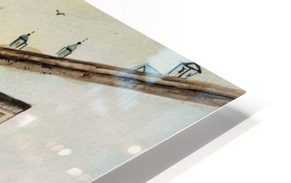 Cofee Lane_DKS Impression de sublimation métal HD