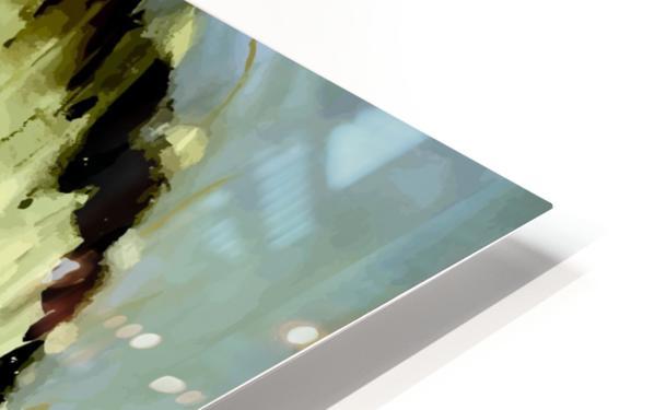 USA Santa Fe New Mexico USAEdited HD Sublimation Metal print