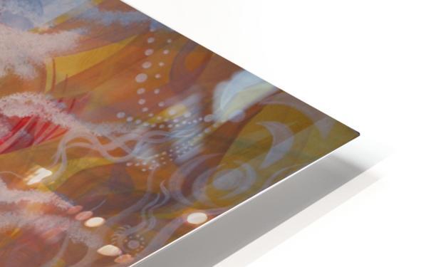 Strength HD Sublimation Metal print
