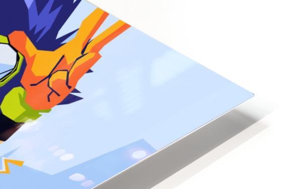 Digimon HD Sublimation Metal print