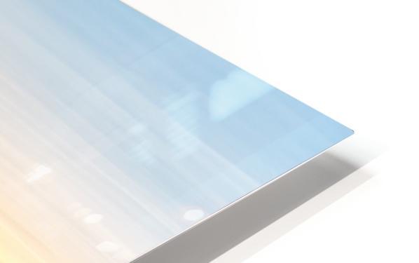Alpine Glow HD Sublimation Metal print