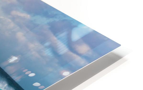 Blue Crash HD Sublimation Metal print