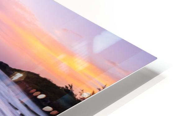 Colorful Sunrise HD Sublimation Metal print