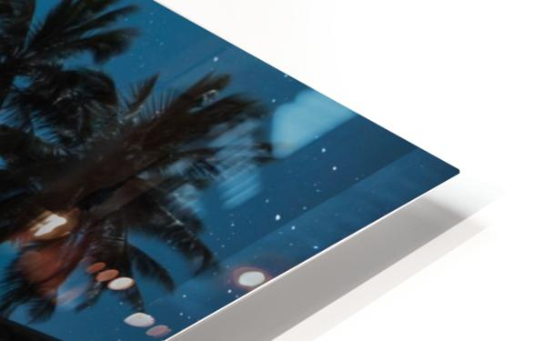 Tropical Night HD Sublimation Metal print