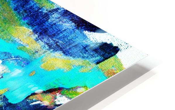 Abstract Ikat Impression de sublimation métal HD