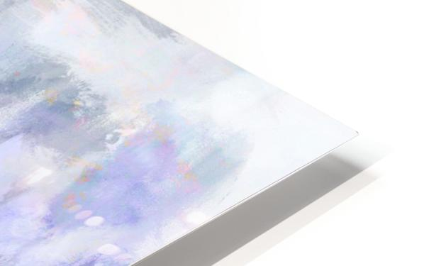 Lavender Cloud HD Sublimation Metal print