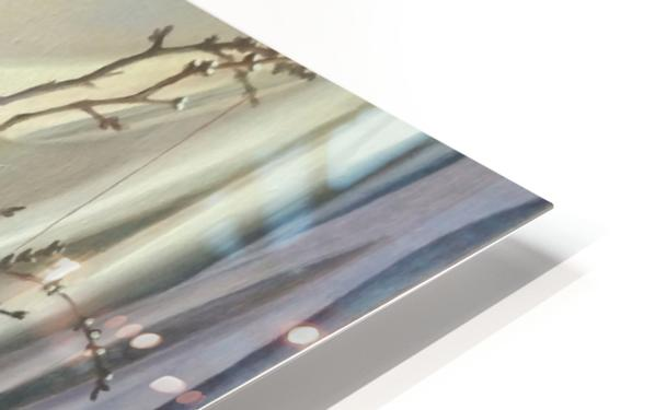 Waiting for opening HD Sublimation Metal print