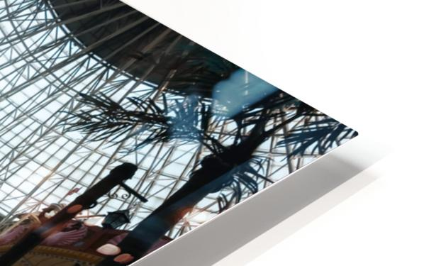 Abandoned Indiana Jones Theme Park HD Sublimation Metal print