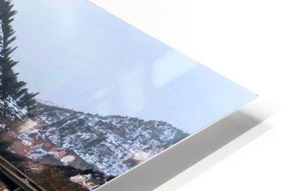 Colorado River HD Sublimation Metal print