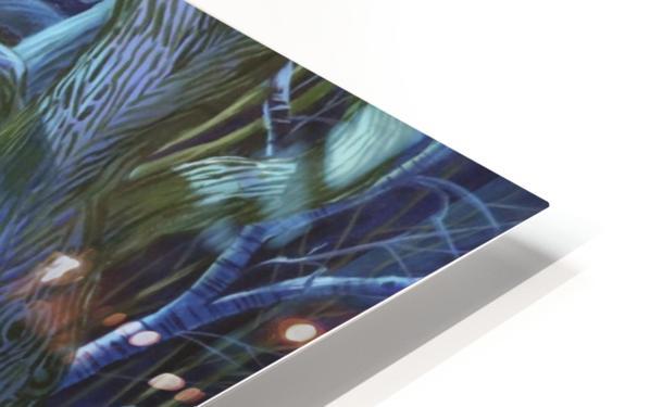 Mystic Flower Garden HD Sublimation Metal print