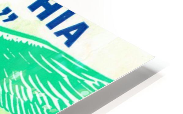 1960 Philadelphia Eagles Football Ticket HD Sublimation Metal print