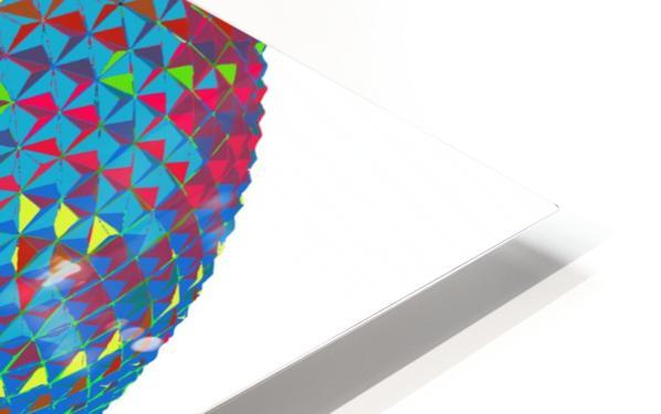geometrical HD Sublimation Metal print