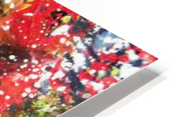 Primary Blossom HD Sublimation Metal print