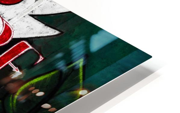 Surf Fire HD Sublimation Metal print