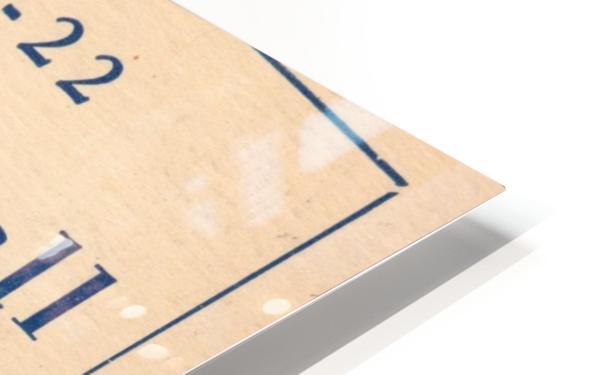 1921 Basketball HD Sublimation Metal print