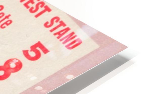 1975 College Football Ticket Collection_Alabama vs. Missouri_College Ticket Stub Art (1) HD Sublimation Metal print