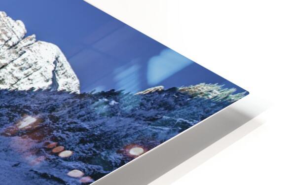 Maroon Bells Dressed in white HD Sublimation Metal print