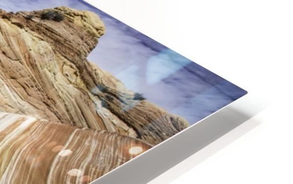 Sand Waves HD Sublimation Metal print