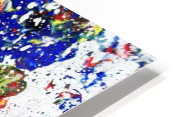 Primary Blossom 1 HD Sublimation Metal print