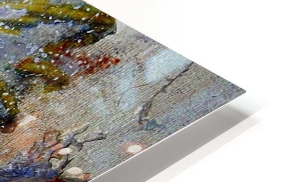 Abstract Single HD Sublimation Metal print