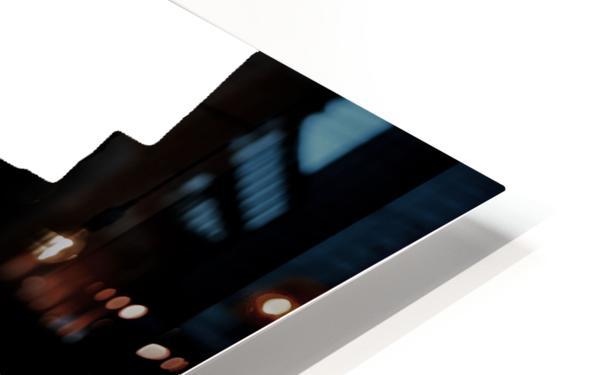 Black & White Form Texture Art D3200 1267 HD Sublimation Metal print