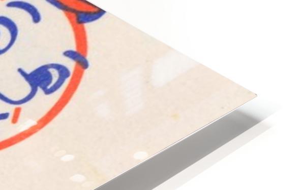 1977 new york mets art reproduction shea stadium retro baseball artwork row one brand HD Sublimation Metal print