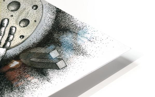 Run HD Sublimation Metal print