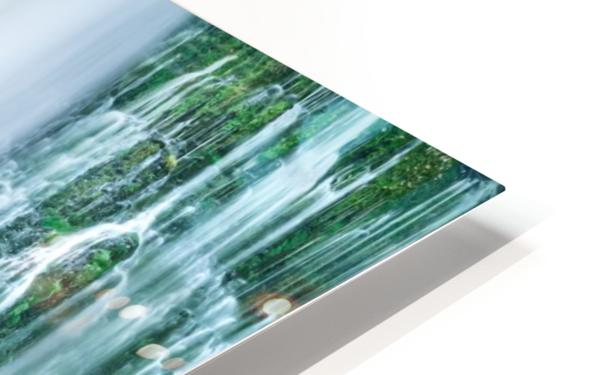 The Flowing Wall HD Sublimation Metal print