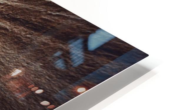 Zebra Slot Canyon II HD Sublimation Metal print