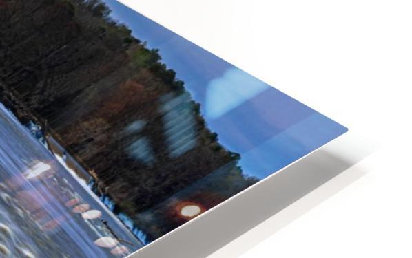 Savannah River Rapids in Columbia County   Augusta GA 6254 HD Sublimation Metal print