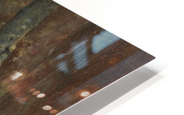 Reiter im Wald HD Sublimation Metal print