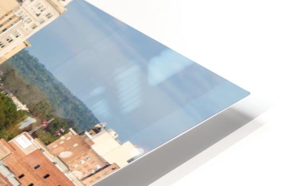 Broad Street Downtown Augusta GA Aerial View 8259 HD Sublimation Metal print