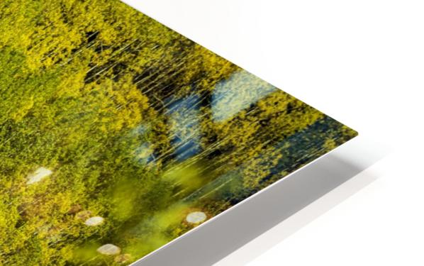 Full Stack of Yellows HD Sublimation Metal print