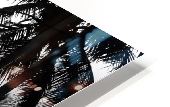 Ipanema B&W HD Sublimation Metal print
