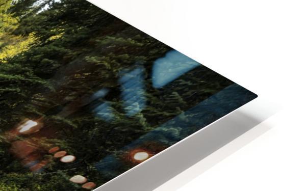 Rocky Mountain Stream II HD Sublimation Metal print