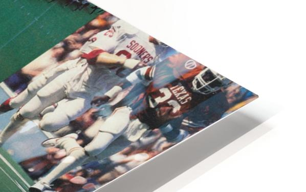 Texas Longhorns Football Poster_Texas Longhorn College Football Photo Collage HD Sublimation Metal print