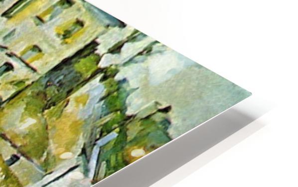 Fruit garden in Pontoise by Cezanne HD Sublimation Metal print