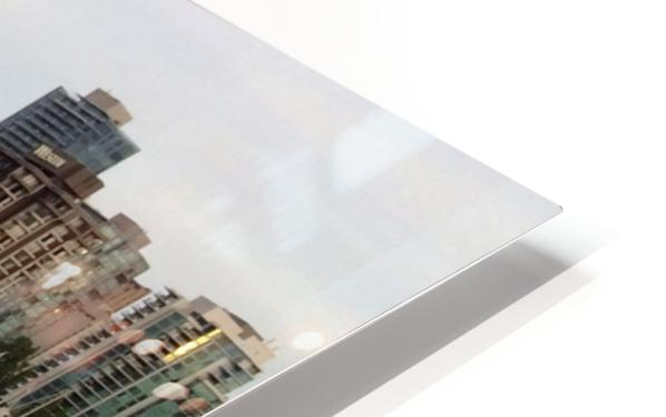 Downtown Reflection HD Sublimation Metal print