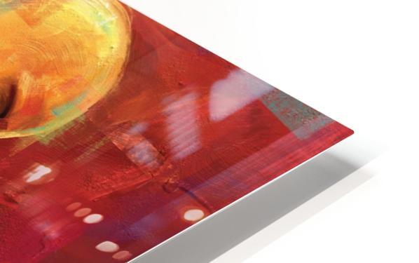 AMOR AMARILLO HD Sublimation Metal print