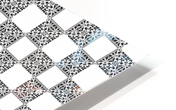 seamlesstilederivativepattern HD Sublimation Metal print
