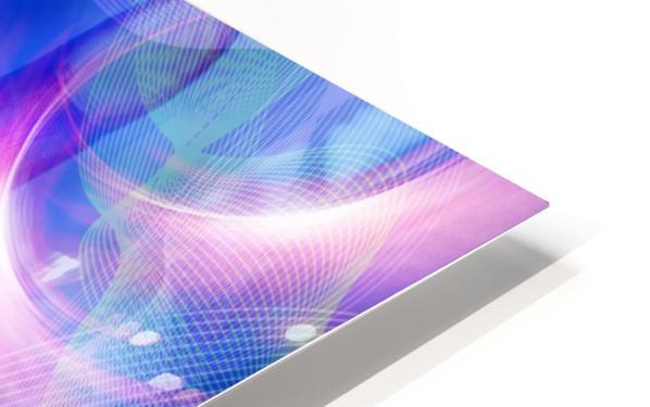 Human Eye and Palm HD Sublimation Metal print